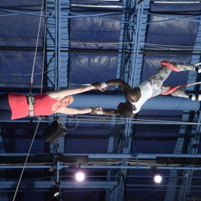 daring young girl on the flying trapeze (part two)