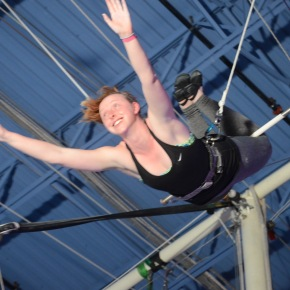 that daring young girl on the flying trapeze (part one)